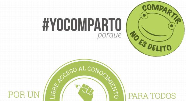 Durante la semana del Acceso Abierto digamos juntos #YoComparto