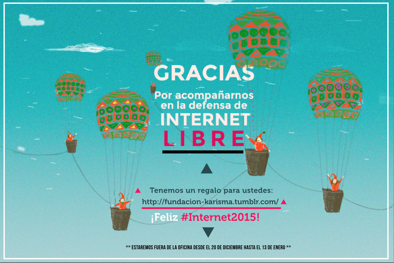 ¡Feliz #Internet2015!